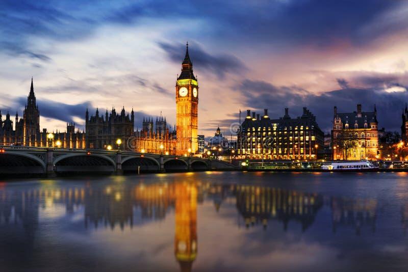 Ben grande e casa do parlamento imagem de stock royalty free