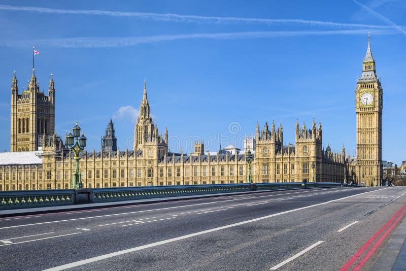 Ben grande e casa do parlamento fotografia de stock royalty free