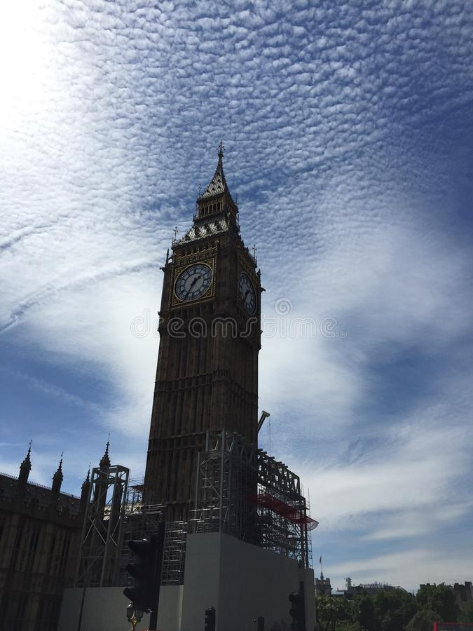 Ben grande, Londres foto de stock royalty free