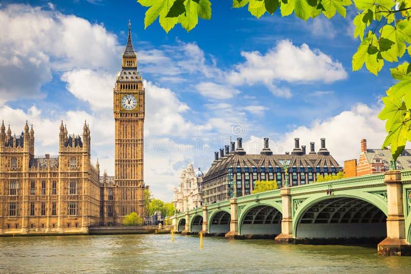 Ben grande, Londres fotografia de stock