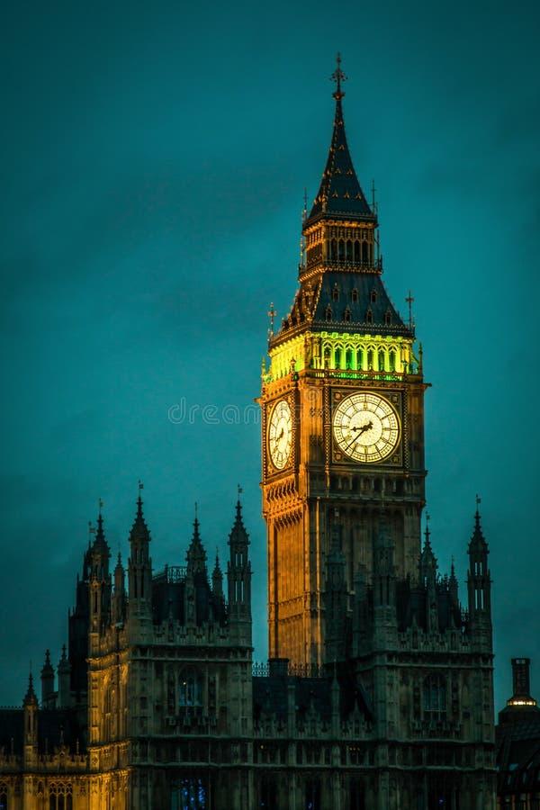 Ben grande Londres Reino Unido imagem de stock