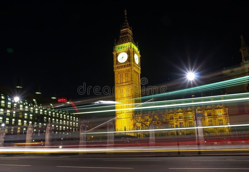 Ben grande na noite imagens de stock royalty free
