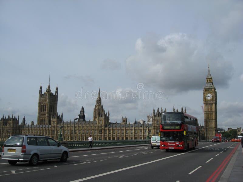 Ben Grande Y El Parlamento Londres Imagen de archivo editorial