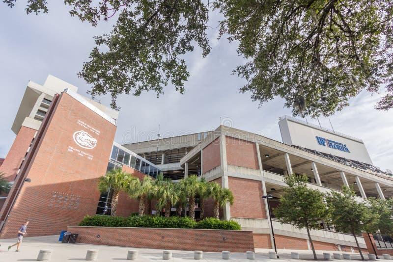 Ben Hill Griffin Stadium przy uniwersytetem Floryda fotografia royalty free