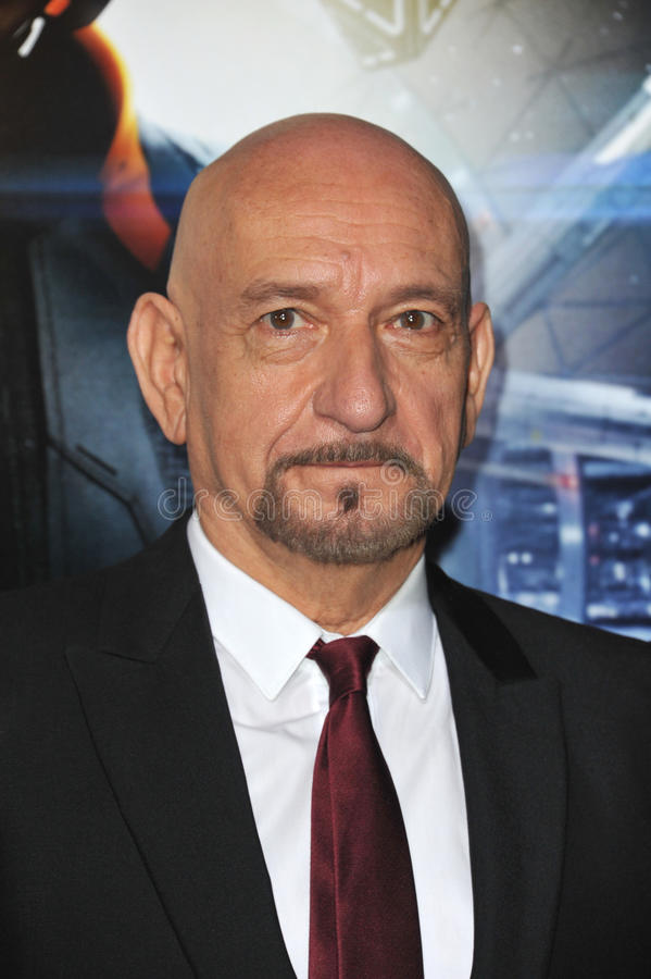 ben kingsley sir obrazy stock