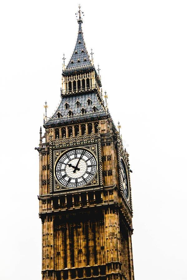 Ben London Westminster Tower grande foto de archivo libre de regalías