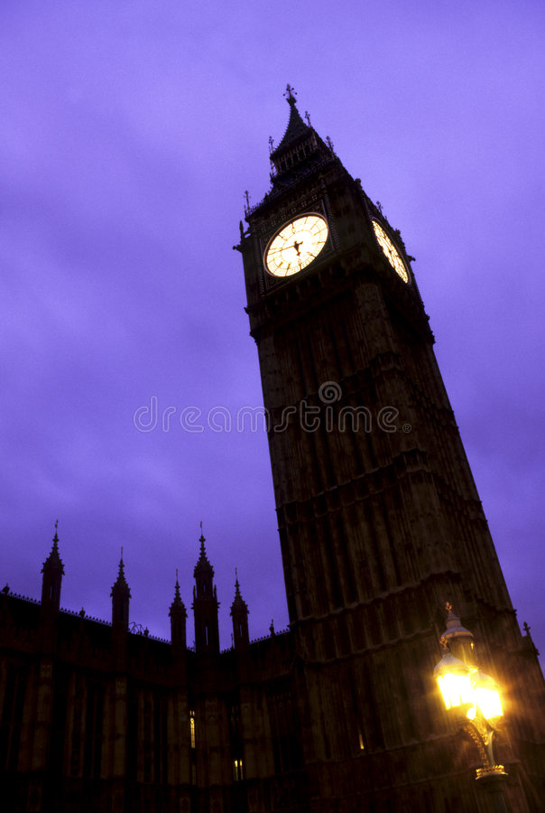 ben London wielki parlamentu obraz royalty free