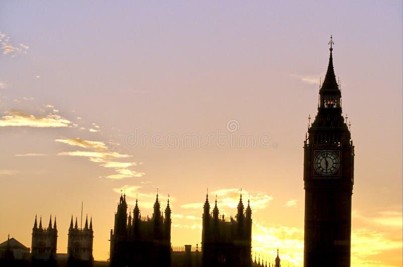 ben London wielki parlamentu obraz stock