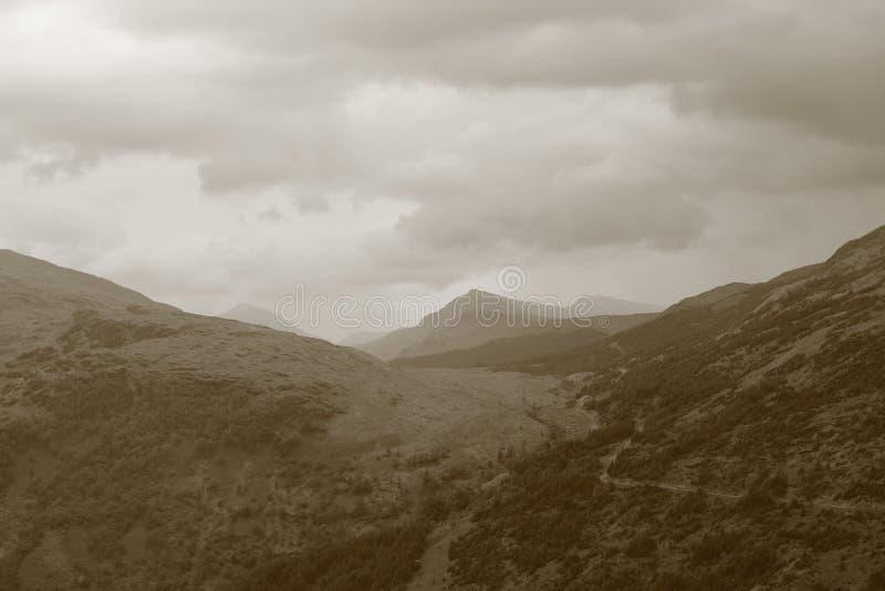 Ben Lorvich Loch Lomond royaltyfria foton