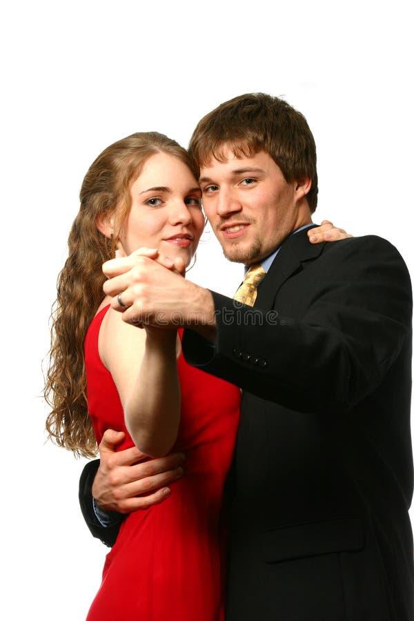 Ben Mijn Dansend Paar van de Valentijnskaart stock afbeeldingen