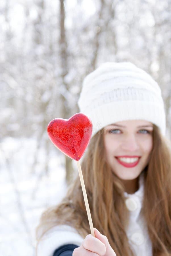 Ben mijn Valentijnskaart! stock afbeelding