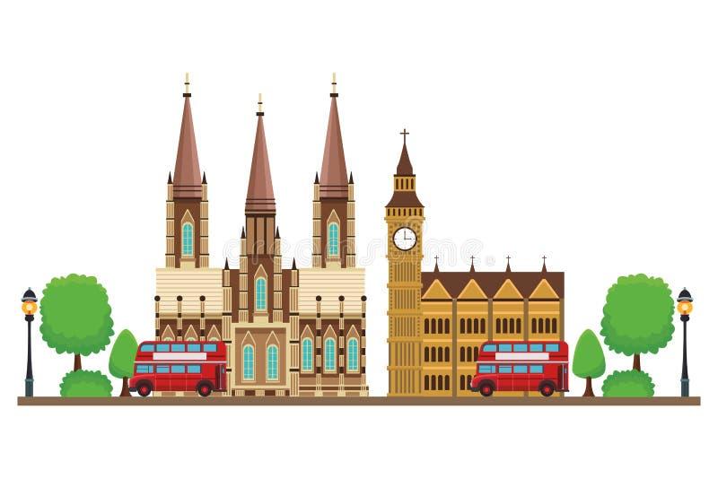 BEN Monument GRANDE ilustración del vector