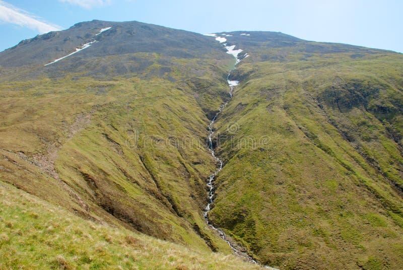 Ben Nevis Highest Peak in het UK royalty-vrije stock foto