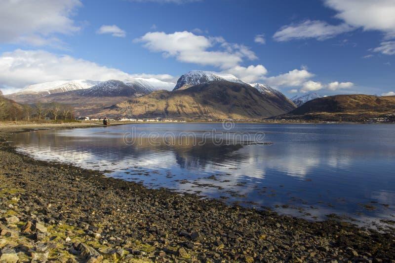 Ben Nevis Scotland fotografia de stock