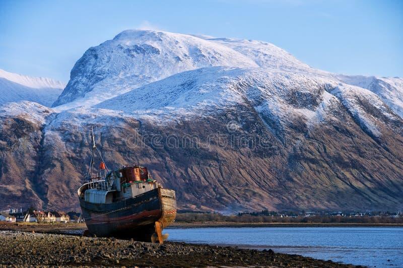 Ben Nevis Skottland arkivbild