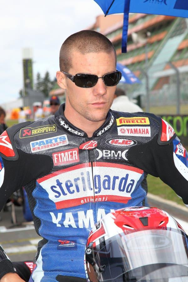 Ben Spies Sbk Nurburgring 2009 stock image