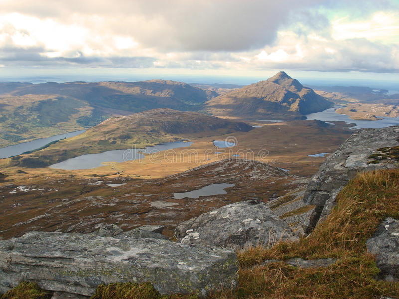 Download Ben Stack, Highlands, Scotland Stock Photo - Image of hills, meallan: 28827726