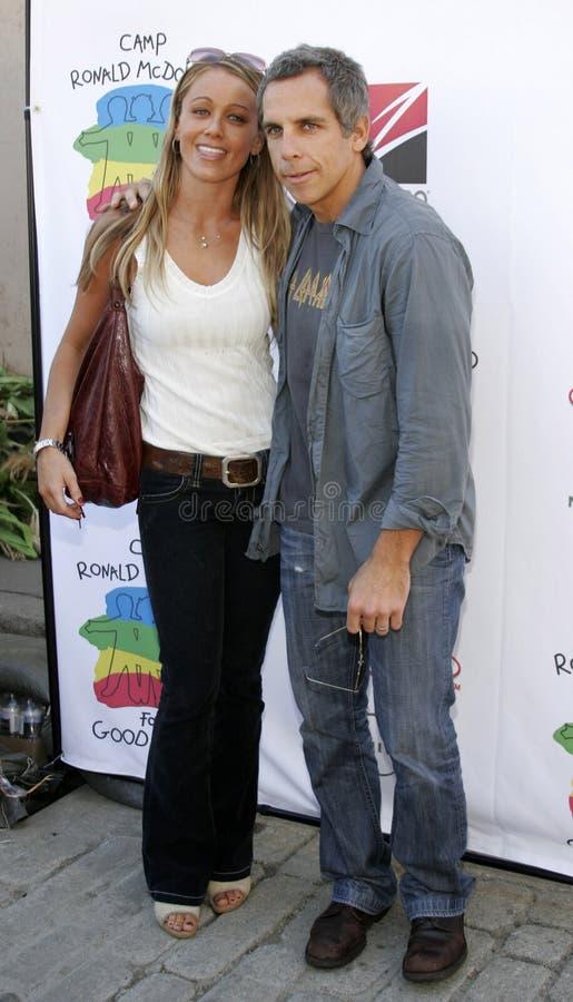Ben Stiller en Christine Taylor royalty-vrije stock fotografie