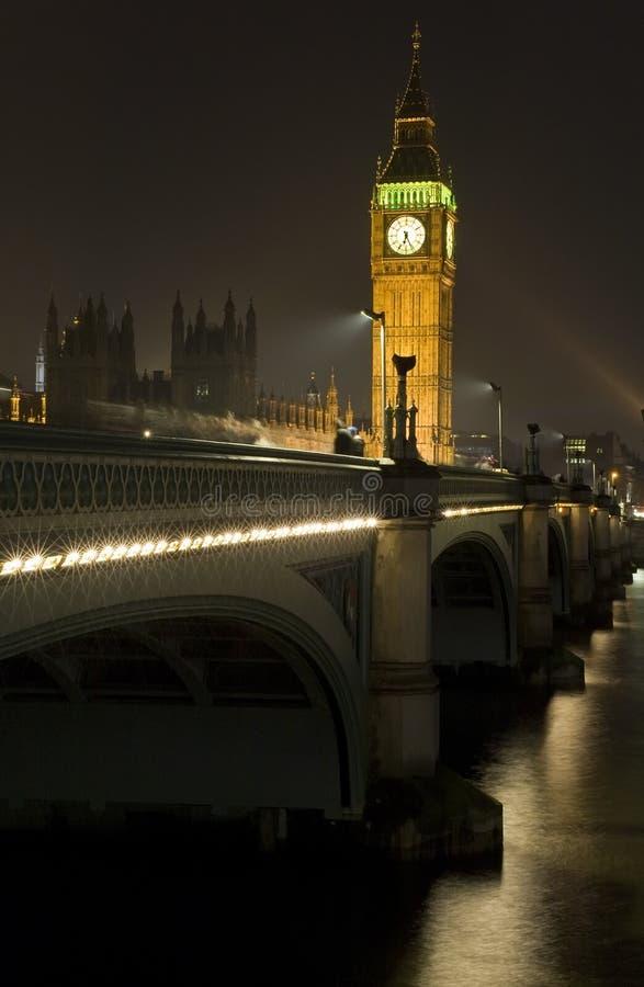 ben stor bro westminster arkivfoton