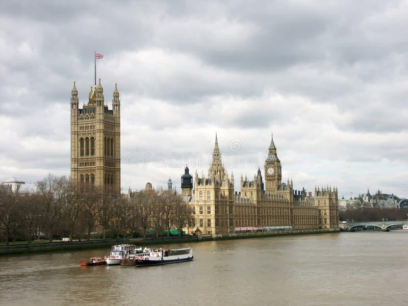 ben stor husparlament arkivfoton