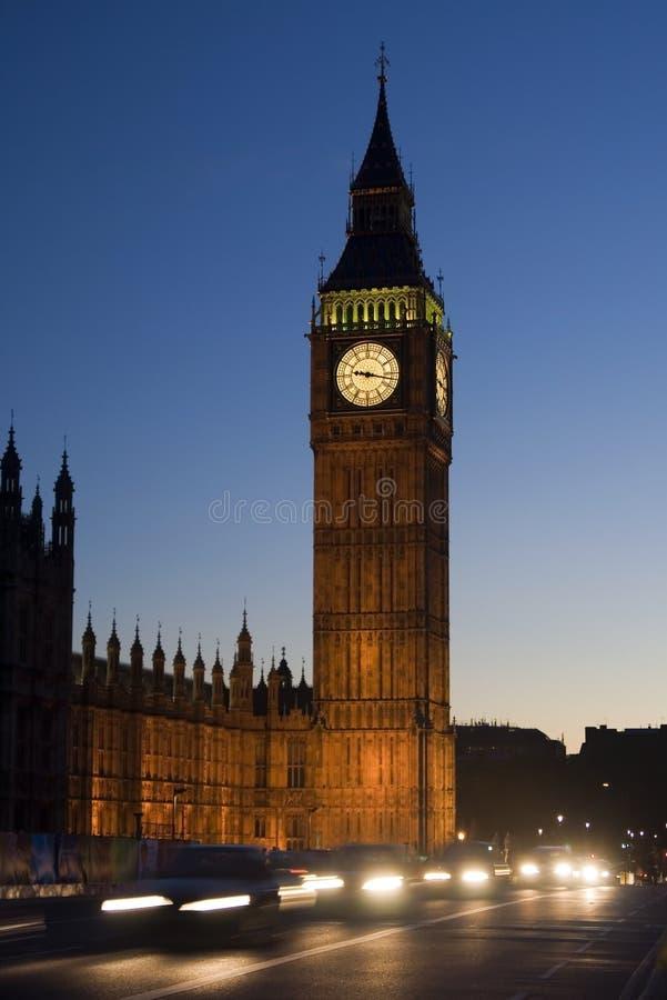 ben stor london trafik royaltyfria foton