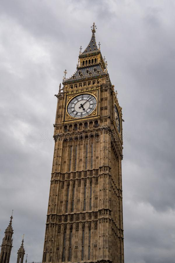 ben stora london England F?renade kungariket arkivfoto