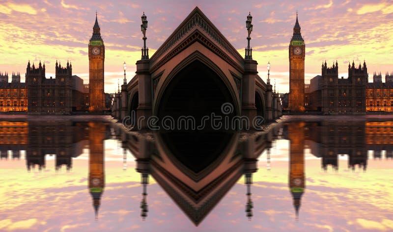 ben stora london uk royaltyfri foto