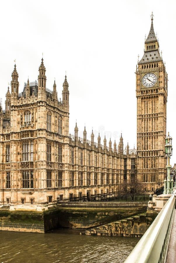 ben stora london westminster royaltyfri bild