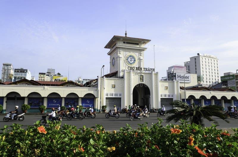 Ben Thanh Market In Ho Chi Minh City lizenzfreies stockfoto