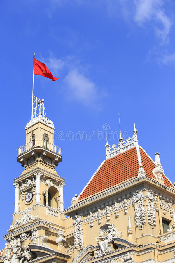 Ben Thanh Market. In Ho Chi Minh City royalty free stock images