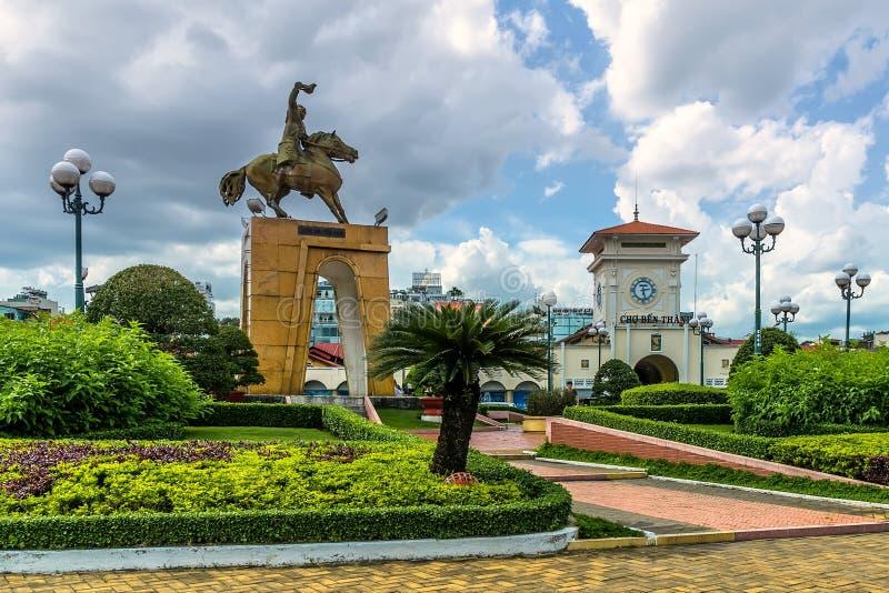 Ben Thanh-markt stock foto