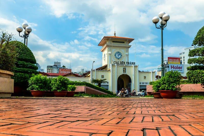 Ben Thanh-markt stock foto's