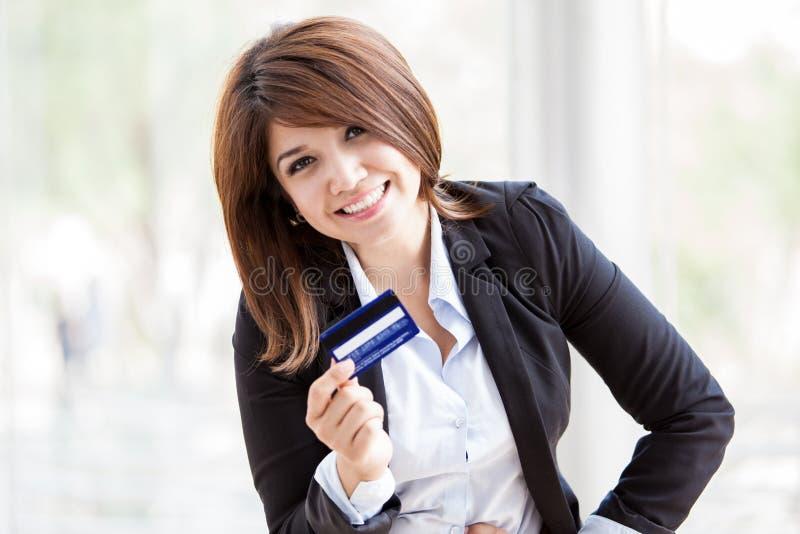Ben vandaag voor uw creditcard van toepassing stock foto's