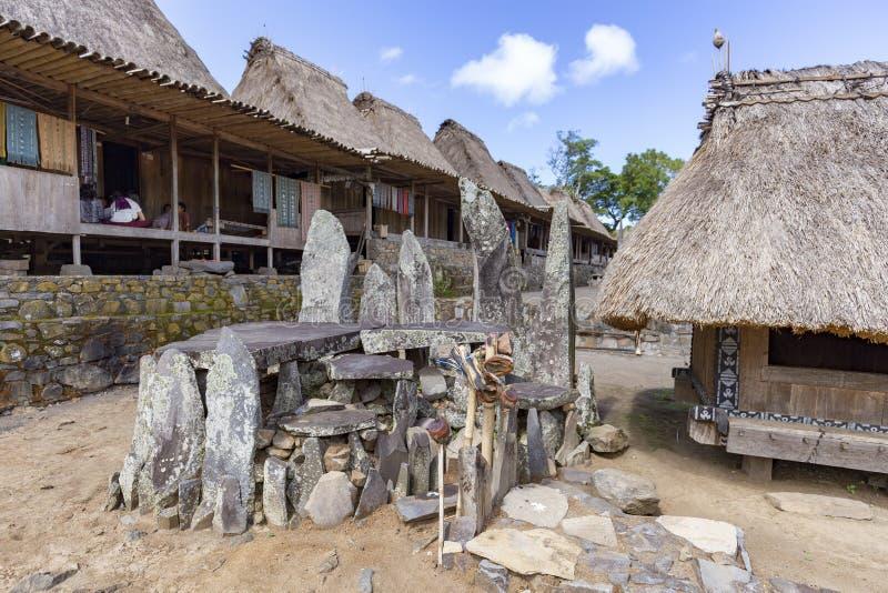 Bena wioski wnętrze zdjęcie royalty free