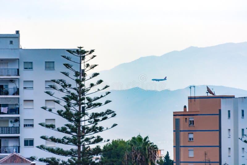 Benalmadena Malaga Costa del Sol Beautiful View Sunrise Cityscape. Amazing view royalty free stock photo