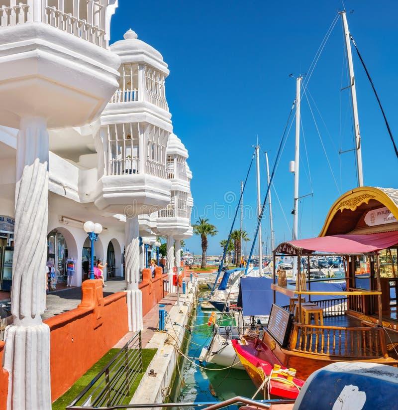 Benalmadena Marina. Andalusia, Spain royalty free stock photography