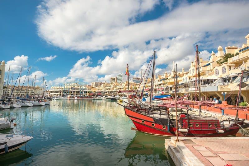 Benalmadena marina. Costa del Sol, Malaga province, Andalusia, S stock photos