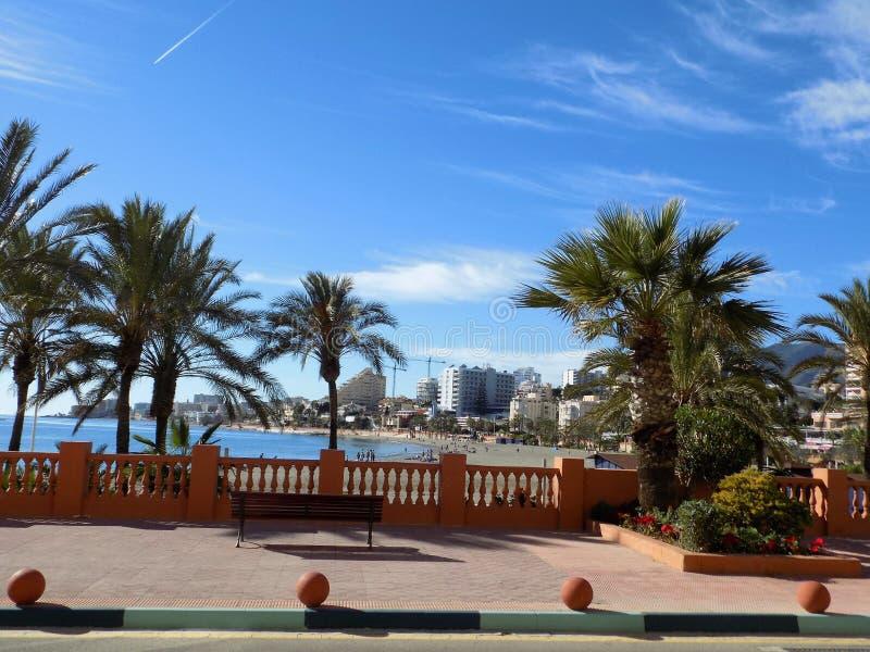Download Benalmadena Wybrzeże Europa Zdjęcie Stock - Obraz złożonej z palmy, europejczycy: 106919014