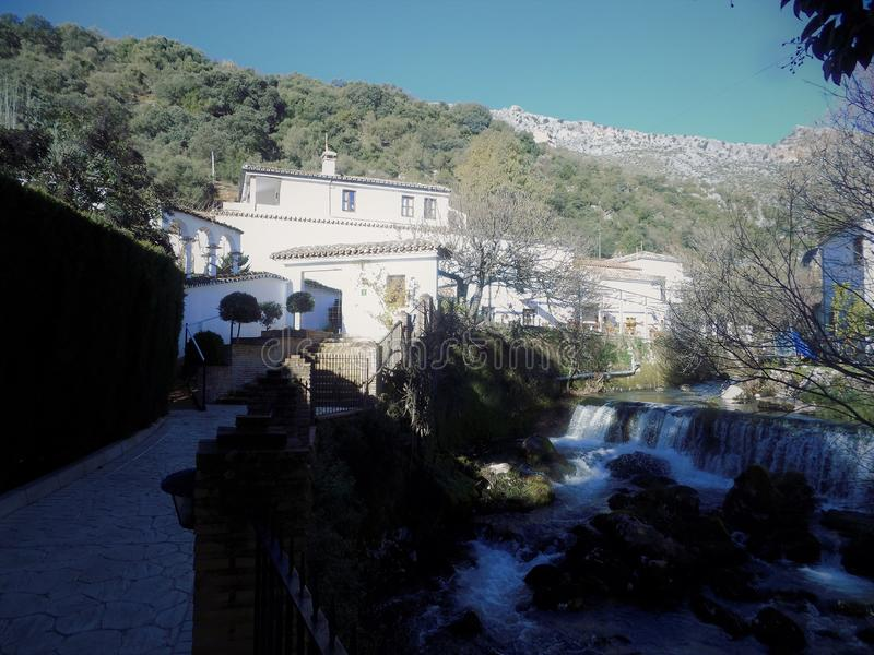 Benaojan-Molino del Santo. Andalusia-Spain royalty free stock photo