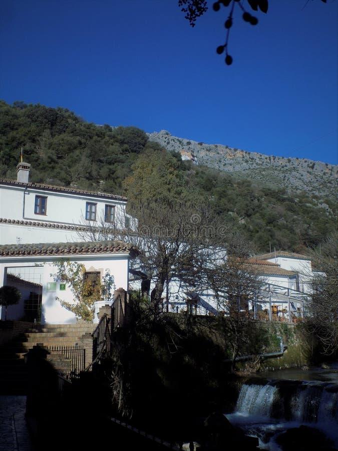 Benaojan-Molino del Santo. Andalusia-Spain stock photography