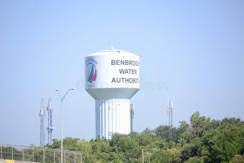 Benbrook水利局,沃思堡,得克萨斯 库存照片