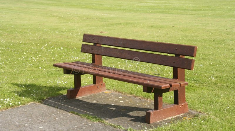 Download Bench stock image. Image of seat, bench, park, shadow, wooden - 128919