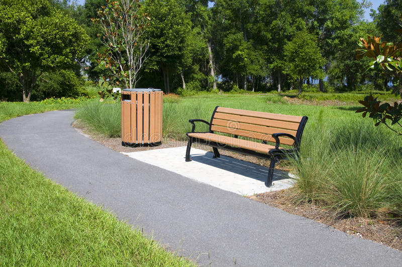 Download Bench stock photo. Image of barrel, rest, magnolia, seat - 14674276