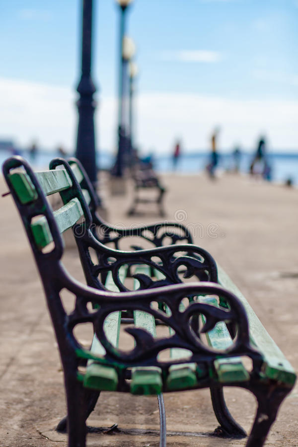 Download Bench stock photo. Image of relax, cuba, peace, lake - 28576628