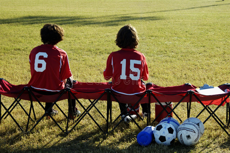 Download On the bench. stock image. Image of losers, adults, shots - 299401