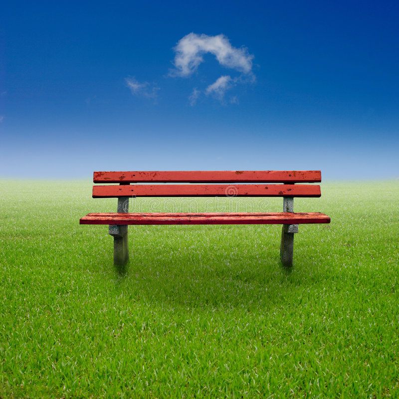 Download Bench stock image. Image of green, park, solitude, wood - 5005457