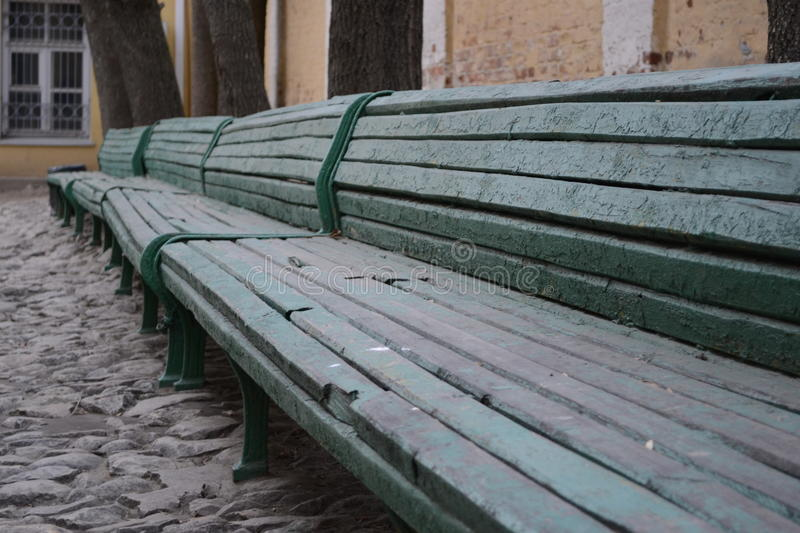 The bench royalty free stock images