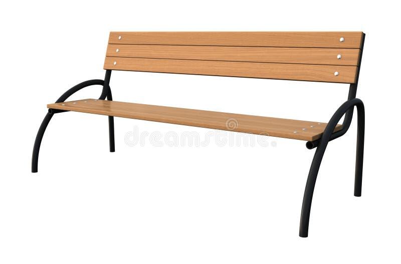 Bench stock illustration