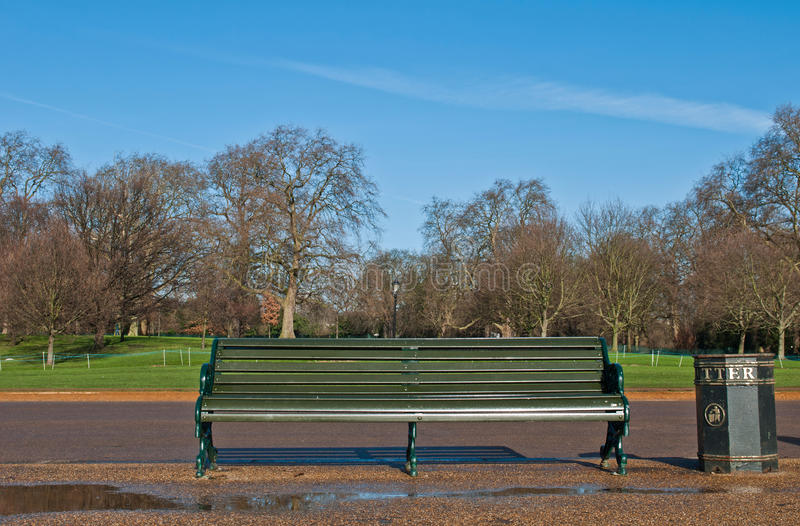 Download Bench in Hyde Park stock photo. Image of outside, picturesque - 31369116
