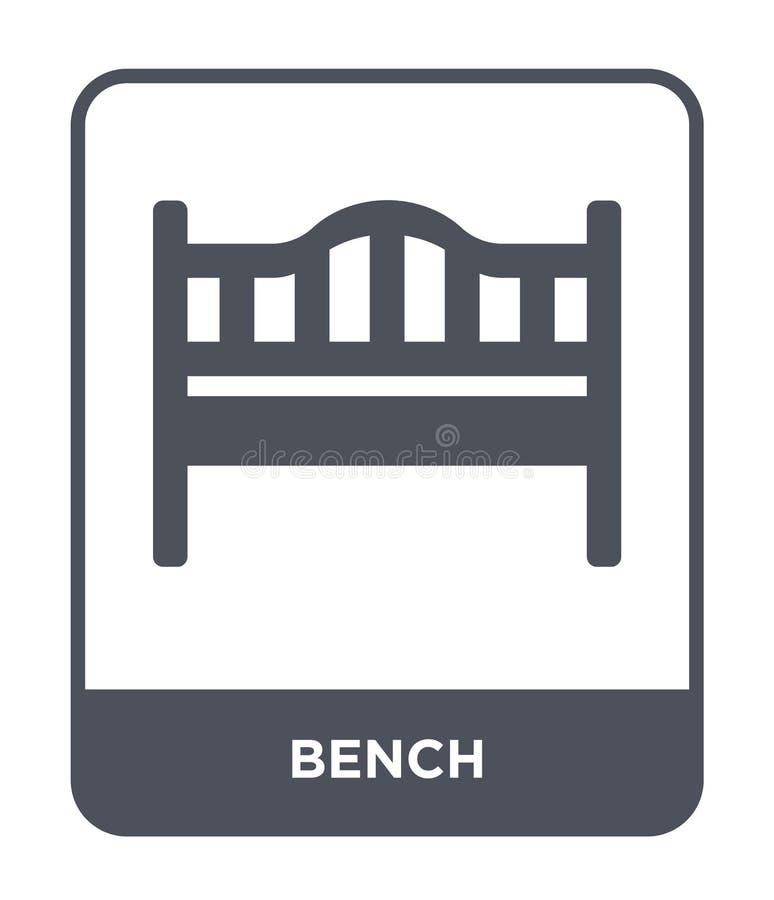 Street Bench . Symbol. Vector Icon. Stock Vector